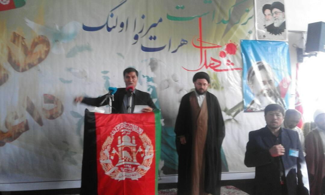 بزرگداشت شهدای میرزاولنگ در کرمان-گزارش تصویری