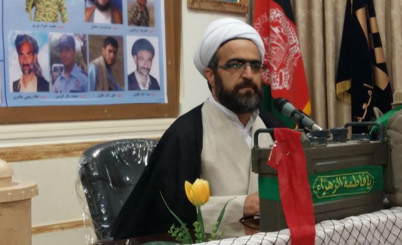 سخنرانی حجت الاسلام والمسلمین محمد موسی زکی در یادواره شهدای افغانستان بویژه شهدای سوزمه قلعه در قم
