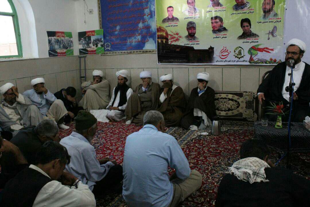 گزارش تجلیل شهدای میرزا ولنگ توسط مهاجرین سوزمه قلعه وسرپل (سمنان )